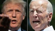Donald Trump und Joe Biden
