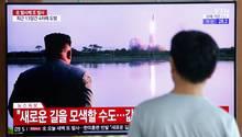 Nordkorea - Raketentest - USA - Südkorea