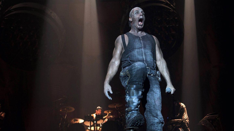 Rammstein-Frontmann Till Lindemann bei einem Auftritt 2012 in Dänemark