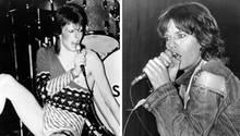 David Bowie und Mick Jagger