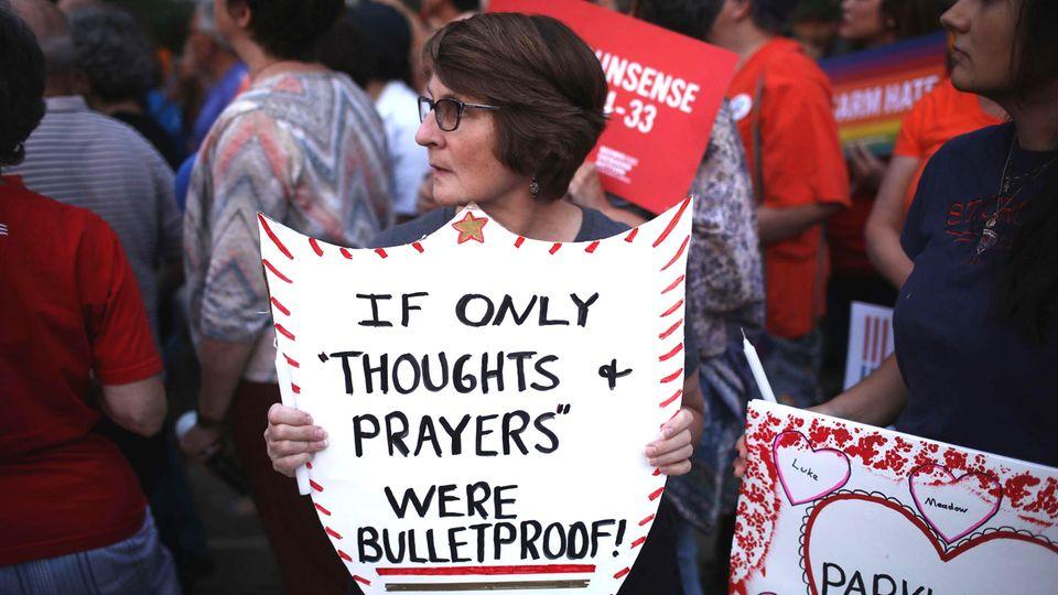 Nach den Bluttaten in Dayton und El Paso werden Rufe nach einer Reformierung des Waffenrechts laut