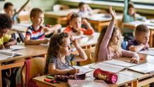 Schüler in der Grundschule
