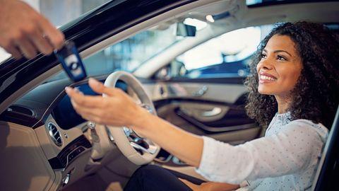 Auf dem Weg zu Wunschauto wird einiges an Extras in der Liste angekreuzt.