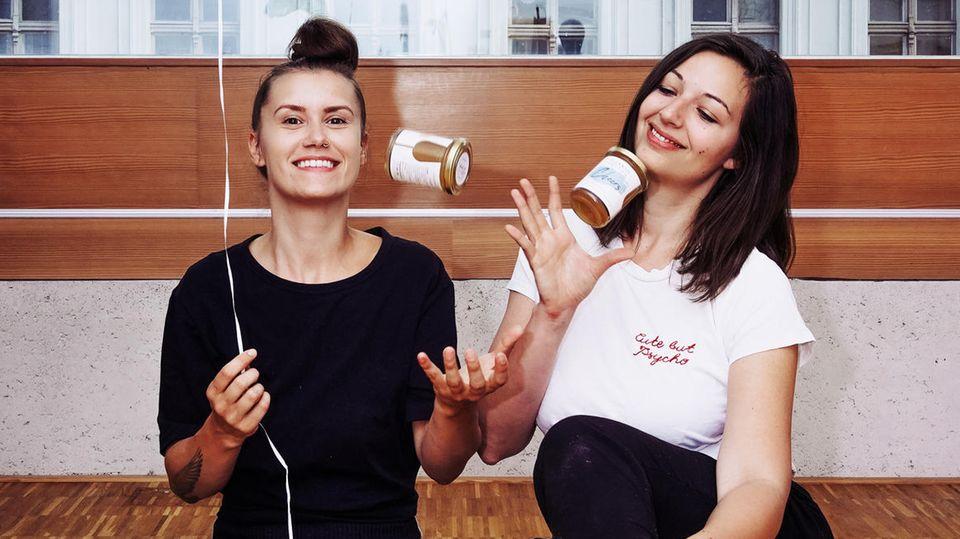 """Startup """"Hannah und Paula's"""": Wein als Brotaufstrich"""