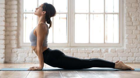 Yoga trägt zum Wohlbefinden bei