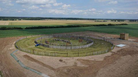 Eine Rekonstruktion des Ringheiligtums von Pömmelte