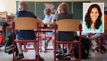 Klassenzimmer einer Grundschule; BildungforscherinMona Massumi