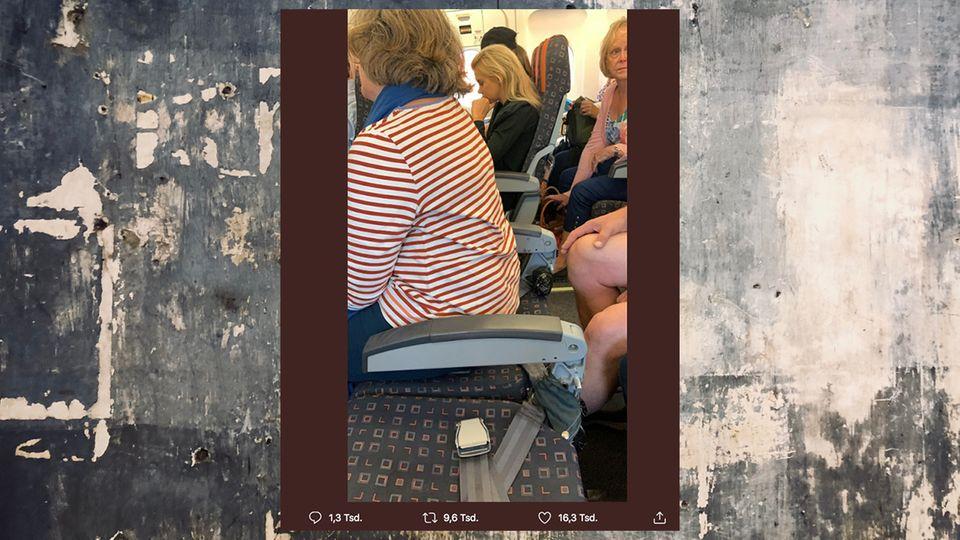 Unnötige Aufregung um Easyjet-Flug: Warum dieses Foto nur die halbe Wahrheit zeigt