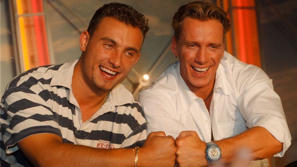 Die Aufnahme zeigt Zaltko und Jürgen. Zlatko wird ins promi big brother einziehen