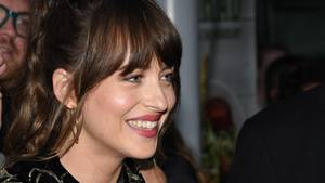 "Schauspielerin Dakota Johnson auf der Filmpremiere von ""The Peanut Butter Falcon"" in Los Angeles"