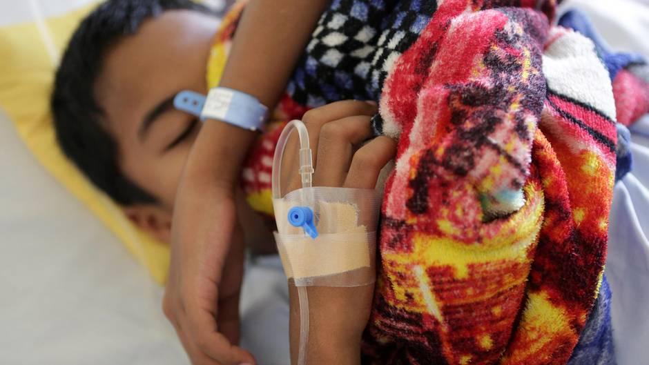 Philippinen: Ein unter Dengue-Fieber leidender Patient