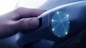 Eine Innovation: Öffnen und Starten per Fingerabdruck