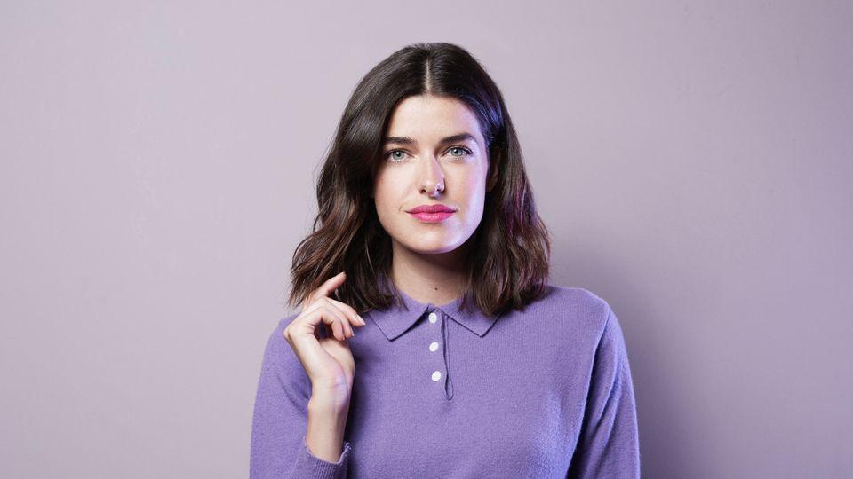 Schauspielerin, Model und Bloggerin Marie Nasemann