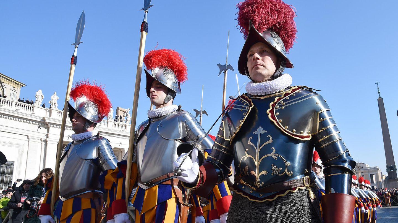 Am 6. Mai werden die Soldaten des Papstes vereidigt.
