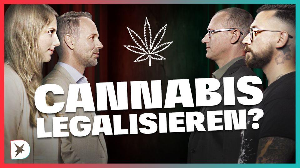 Diskuthek: Cannabis legalisieren?