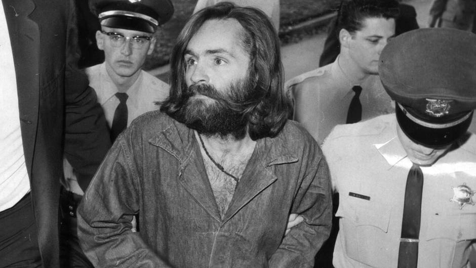 Charles Manson im Dezember 1969