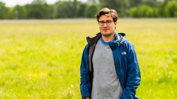 Retter der Bienen: Biologe Jan Hellberg von der Aurelia Stiftung hat die Testkäufe des stern begleitet