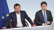 Italien Krise: Conte und Salvini