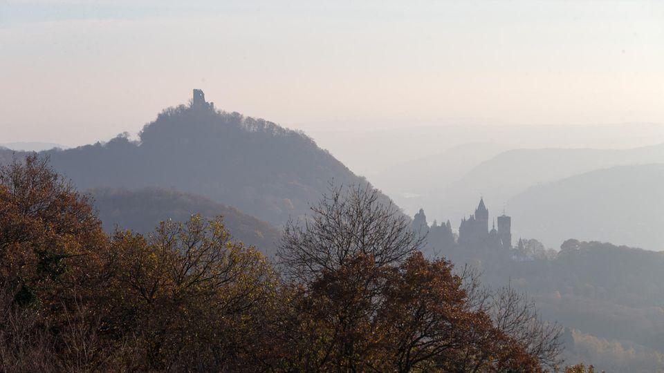 Drachenfels nahe Bonn