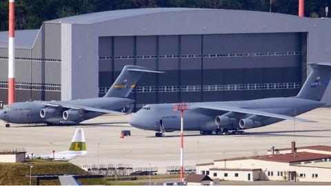 Der US-LuftwaffenstützpunktRamstein in Rheinland-Pfalz