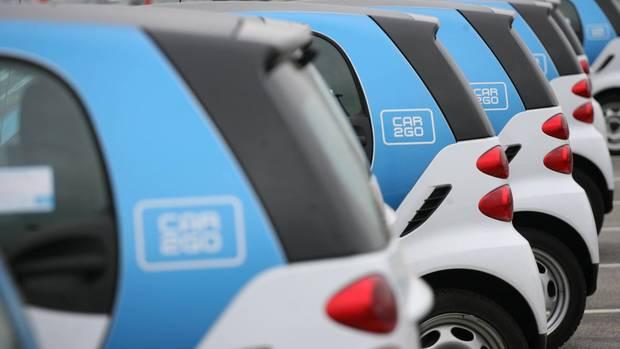 Carsharing-Anbieter Car2Go