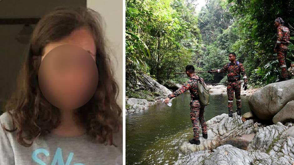 15-jähriges vermisstes Mädchen Nora Q., Suchmannschaft in Malaysia