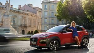 Der Hyundai KONA Hybrid lädt seine Batterie beim Bremsen auf