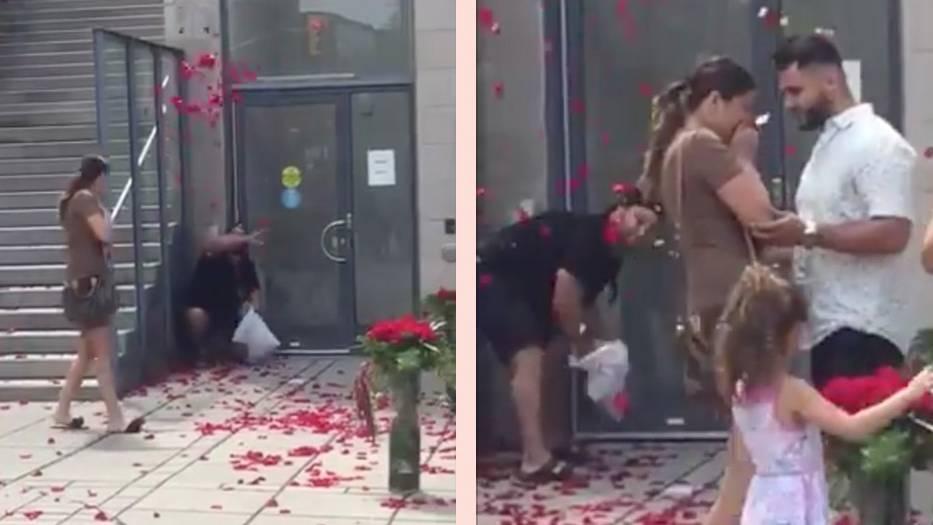 Bromance: Heiratsantrag geht viral – doch der Grund ist nicht das Brautpaar