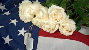 Sarg eines gefallenen US-Soldaten