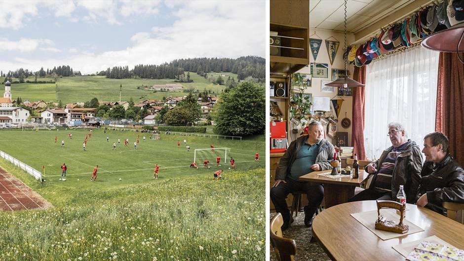 Kreisliga in Bildern: Amateurfußballer geben jedes Wochenende alles