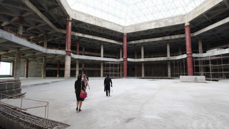 DasRyugyong Hotel von innen (2012)