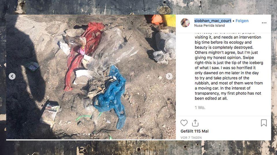 Nusa Penida: Wie eine indonesische Insel im Müll versinkt