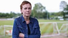 Ute Groth, Vorsitzende des DJK Tusa 06 Düsseldorf, bewirbt sich als DFB-Präsidentin