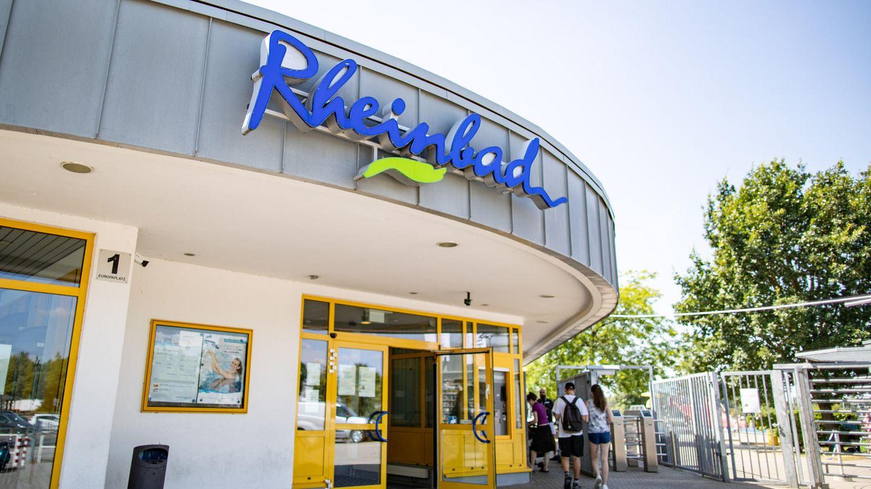Das Rheinbad in Düsseldorf
