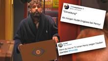 """Nach dem dritten Tag von """"Promi Big Brother"""" wird Chris die Zielscheibe für hämische Twitter-Kommentare."""