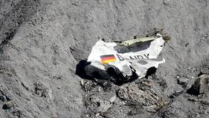Trümmer der Germanwings-Maschine