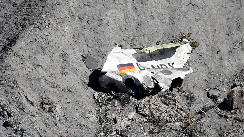 Trümmer der Germanwings-Maschine