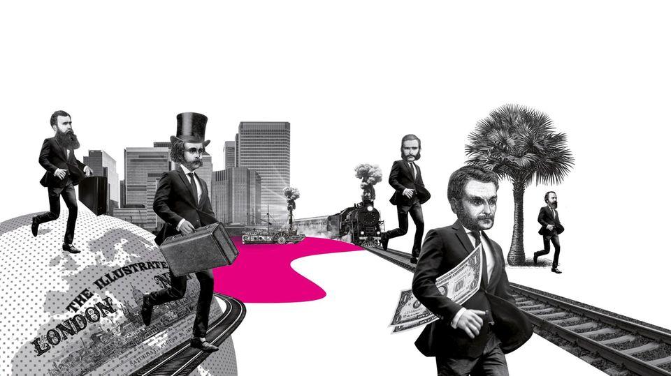 Illustration Gentlemen