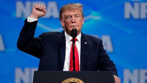 Donald Trump bei der NRA