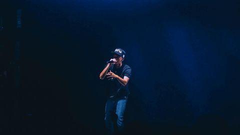 Spotify Rapper Symbolbild