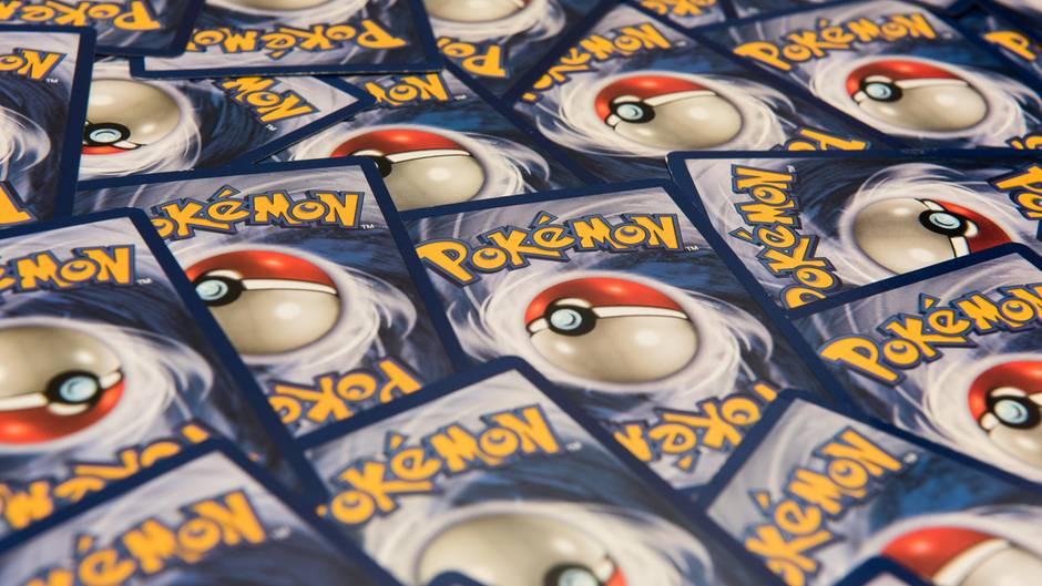 Pokémon-Karten sind auch heute noch beliebt