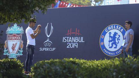 Uefa Super Cup Liverpool gegen Chelsea