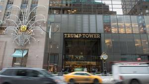 Der Trump Tower in der Fifth Avenue in New York