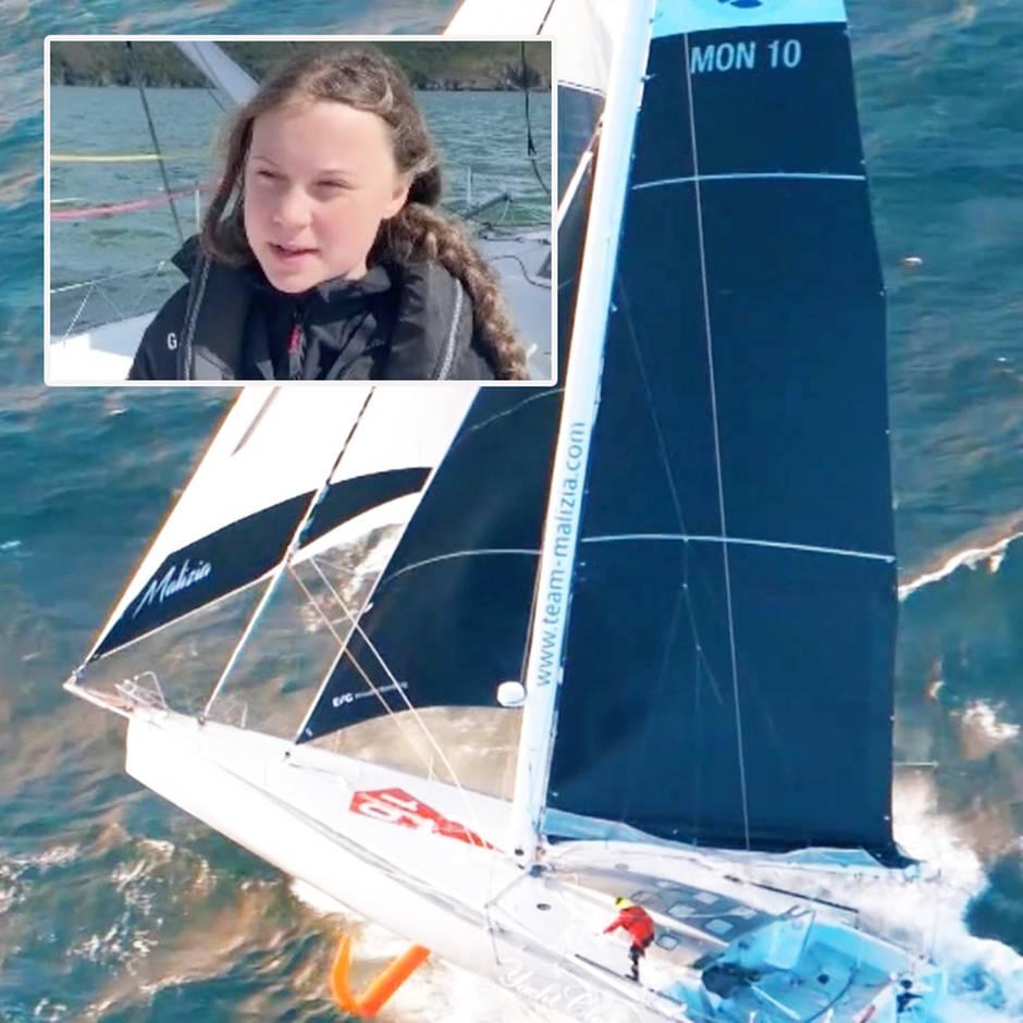 """stern-Reporter auf der """"Malizia II"""": """"Wie auf einer außer Kontrolle geratenen Waschmaschine"""" – Testfahrt mit der Greta-Yacht"""