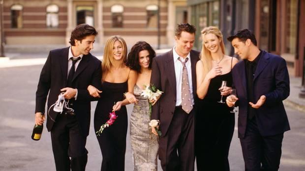 """Die Schauspieler der Kultserie """"Friends"""""""