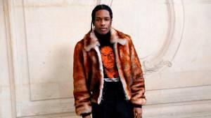 Der Rapper ASAP Rocky