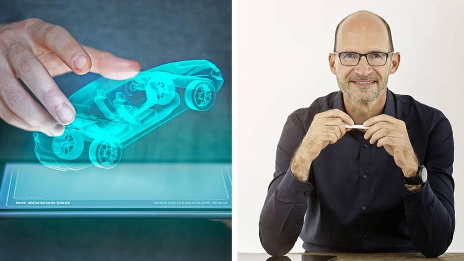 VW-Chefdesigner Klaus Bischoff: So wird E-Mobilität das Aussehen der Autos in Zukunft verändern