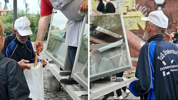 Dieter kauft sich Aale – und den Fisch gibt's oben drauf!