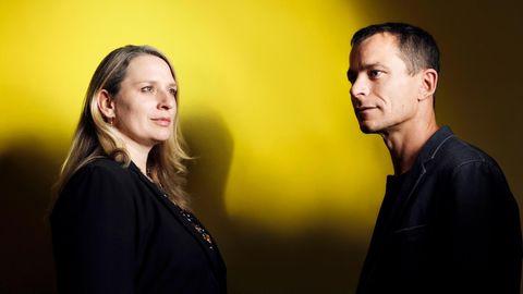 Andrea Beetz und Alexander von Delhaes