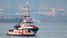 DieOpen Arms vor einem halben Jahr, als sie in den spanischen Hafen vonAlgeciras einlief